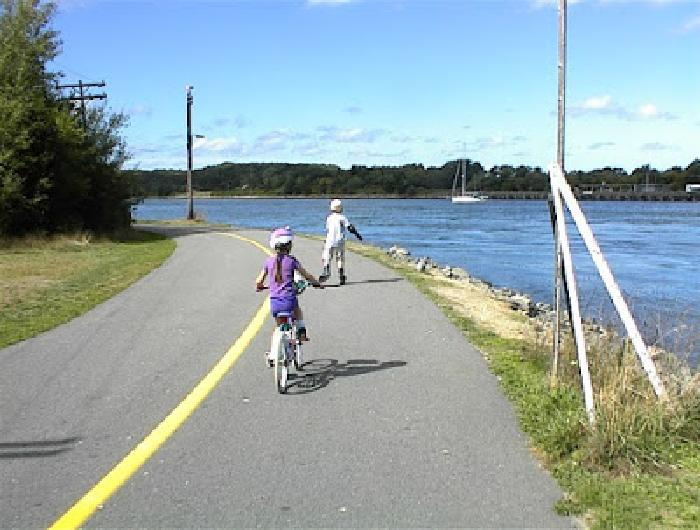 Bicycling Cape Cod Canal